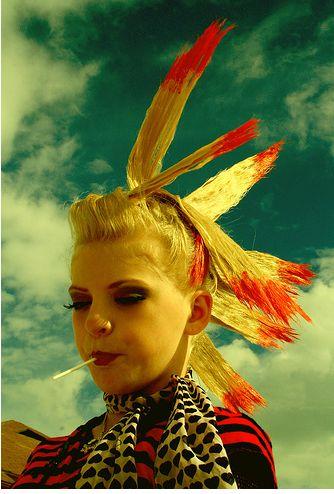 peinado india